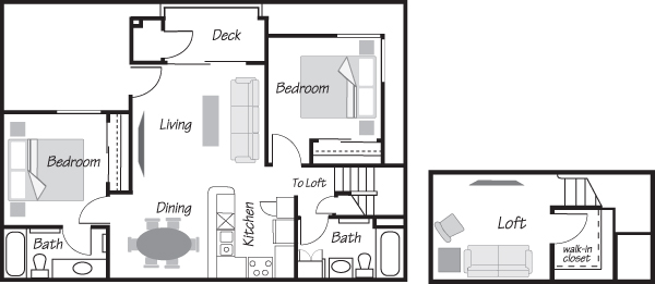 Diamond Bar Village Apartments in Diamond Bar, CA - Floor Plans